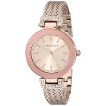 Anne Klein AK/1906RGRG Womens Rose Gold Dial Analog Quartz Watch