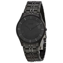 Citizen AR3015-53E Mens Black Dial Analog Quartz Watch