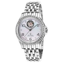 Accutron Kirkwood 63R117 Womens Mop Dial Analog Automatic Watch