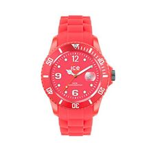 Ice Watch SS.NRD.S.S.12 Womens Red Dial Analog Quartz Watch with Silicone Strap
