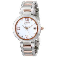 Citizen EO1116-57A Women's Two-Tone Citizen Eco-Drive Marne Diamond Watch