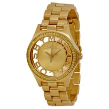 Marc By Marc Jacobs MBM3338 Womens Champagne Dial Analog Quartz Watch
