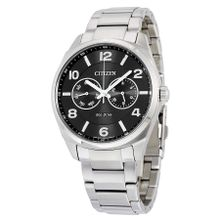 Citizen AO9020-84E Mens Black Dial Analog Quartz Watch