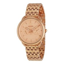 Fossil ES3713 Tailor Womens Rose Gold Dial Analog Quartz Watch