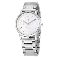 DKNY NY2273 Womens Silver Dial Analog Quartz Stainless Steel Watch