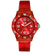 Ice Watch JYRTUU10 Womens Red Dial Analog Quartz Watch with Polyurethane Strap