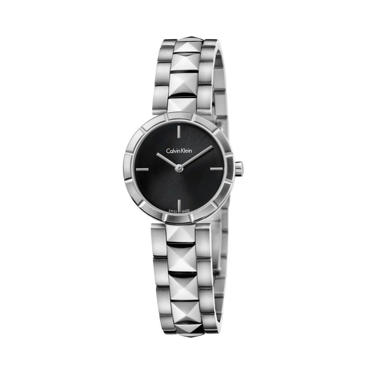 Calvin Klein K5T33141 Womens Analog Watch with Stainless Steel Strap
