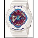 Casio BA112-7A Womens Baby-G Analog Digital Multi-Color Face Strap Watch