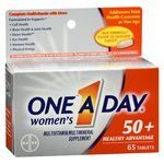 One A Day Women's 50+ Healthy Advantage Multivitamin/Multimineral 65 Tablets