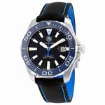 Tag Heuer Aquaracer Automatic Black Dial Mens Watch WAY211B.FC6363