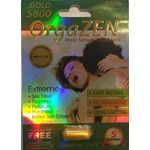 Orgazen Gold 5800 Male Enhancement Sex Pills - All Natural Herbal Supplement