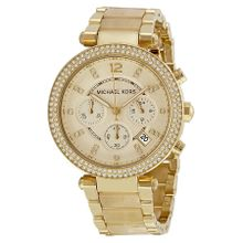 Michael Kors MK5632 Womens Champange Dial Analog Quartz Watch