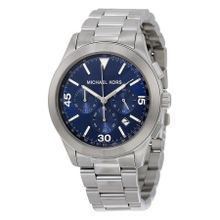 Gareth Chronograph Blue Dial Stainless Steel Men's Watch