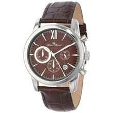 Lucien Piccard LP-12356-04 Mens Brown Dial Analog Quartz Watch