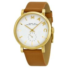 Marc By Marc Jacobs MBM1316 Womens White Dial Analog Quartz Watch