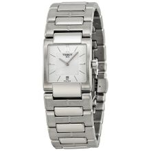 Tissot T0903101111100 Womens White Dial Quartz Watch with Stainless Steel Strap