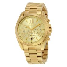 Michael Kors MK5605 Unisex Champagne Dial Analog Quartz Watch