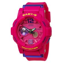 Casio BGA180-4B3 Womens Baby-G Quartz Resin Strap Watch