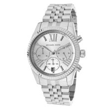 Michael Kors MK5555 Womens Silver Dial Analog Quartz Watch