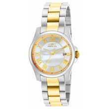 Invicta 15236  Womens Angel Quartz 3 Hand White Dial Watch
