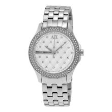 Armani Exchange AX5215 Womens Silver Dial Analog Quartz Watch