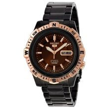 Seiko Seiko 5 SRP148 Mens Brown Dial Analog Automatic Watch