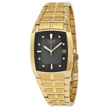Citizen BM6552-52E Mens Black Dial Analog Watch with Stainless Steel Strap
