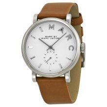 Marc By Marc Jacobs MBM1265 Womens White Dial Analog Quartz Watch
