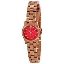 Marc By Marc Jacobs MBM3311 Womens Orange Dial Analog Quartz Watch