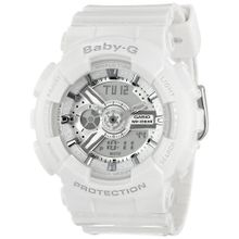 Casio BA110-7A3 Womens Quartz Dual Analog-Digital Resin Strap Watch