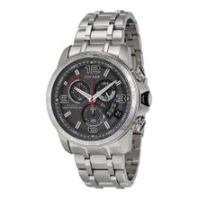 Citizen BY0100-51H Mens Grey Dial Analog Quartz Watch with Stainless Steel Strap