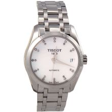 Tissot T0352071111600 Womens Mother of Pearl Dial with Silver Stainless-Steel Swiss Automatic Watch