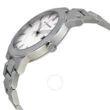 Burberry BU9000 Unisex Silver Dial Analog Quartz Watch