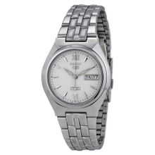 Seiko Seiko 5 SNK315K Mens White Dial Analog Automatic Watch