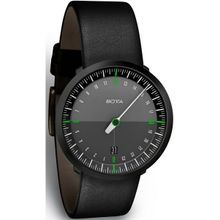 Botta-Design 228010 Mens Black Dial Analog Quartz Watch