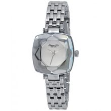 Kenneth Cole KC0011 Womens Silver Dial Analog Quartz Watch