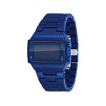 Vestal DBPC003 Mens Navy Blue Dial Digital Watch with Polycarbonate Strap
