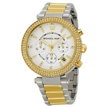Michael Kors MK5626 Womens Silver Dial Analog Quartz Watch