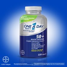 One A Day Men's 50+ Multivitamin, 220 Tablets