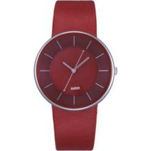Alessi AL8001 Unisex Red Dial Analog Quartz Watch