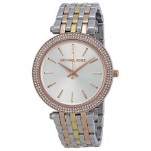Michael Kors MK3203 Womens Silver Dial Analog Quartz Watch