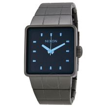 Nixon Quatro A0131427 Mens Blue Dial Quartz Watch