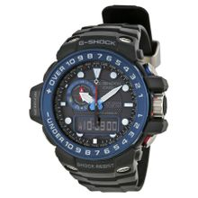 Casio GWN1000B-1B Mens G-Shock Black Dial Dual Quartz Watch