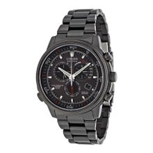 Citizen AT4117-56H Mens Grey Dial Analog Quartz Watch with Stainless Steel Strap