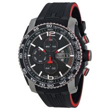 Tissot T0794272705700 Mens Black Dial Analog Automatic Rubber Strap Watch