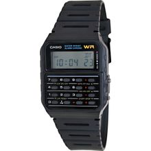 Casio CA53W-1 Mens Digital Dial Digital Quartz Watch with Plastic Strap