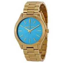 Michael Kors MK3265 Womens Blue Dial Analog Quartz Watch
