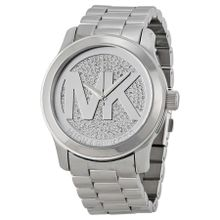 Michael Kors Runway MK5544 Womens Analog Quartz Watch with Stainless Steel Strap