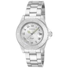 Invicta 14320 Womens Angel Quartz 3 Hand Silver Dial Watch