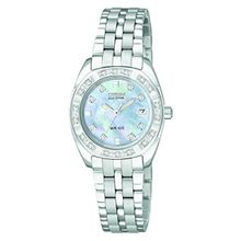 Citizen EW1590-56Y Womens Paladion Mop Dial Eco Drive Stainless Steel Bracelet Watch